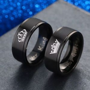 lovers couple rings engagement promise ring band